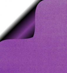 photo of Cadeaupapier 30cm x 200m paars 70gr / m2 wit kraft