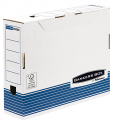 photo of Archiefdoos Bankers Box System A4 80mm wit blauw
