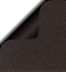photo of Cadeaupapier 30cm x 200m zwart 70gr / m2 wit kraft