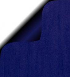 photo of Cadeaupapier 50cm x 200m blauw 70gr / m2 wit kraft