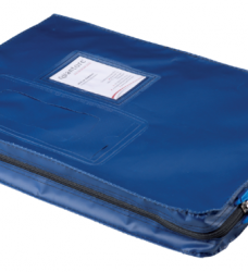 photo of Verzendtas Recordpack met venster blauw