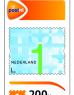 photo of Postzegel NL waarde 1 zelfklevend 200 stuks