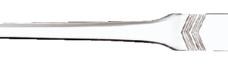 photo of Briefopener MAUL staal bewerkt vlak 24cm zilver blister à 1 stuk