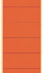photo of Rugetiket Leitz breed/lang 62x285mm zelfklevend rood