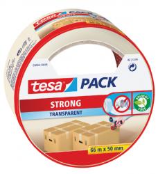 photo of Verpakkingstape Tesa 50mmx66m transparant blister PP