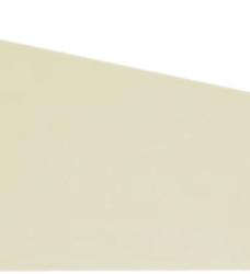 photo of Scheidingsstrook Elba trapezium  240x105/55mm 190gr geel