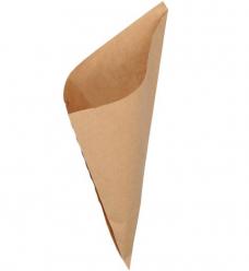 photo of Natronkraft puntzak 26cm x 26cm  bruin onbedrukt