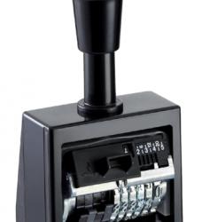 photo of Numeroteur Reiner B6K 13053 6 cijfers 4.5mm kunststof
