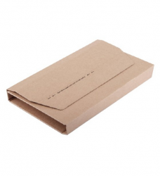 photo of Wikkelverpakking Budget A4 +zelfkl strip bruin