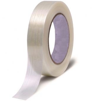 Tape 19mm x 50m linnen versterkt Product image
