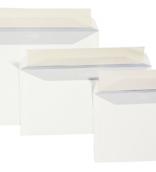 photo of Envelop Quantore bank C6 114x162mm zelfklevend wit 500stuks
