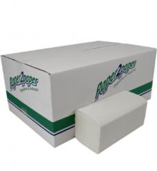 photo of Handdoekjes Paper2paper 25cm x23cm   Z vouw 2 laags wit