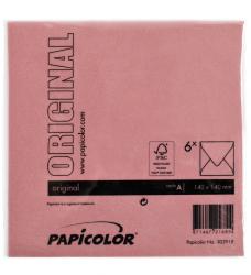 photo of Envelop Papicolor 140x140mm Rood
