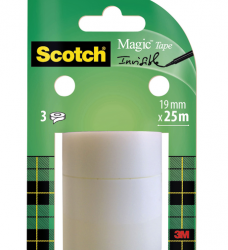 photo of Plakband Scotch Magic 19mmx25m onzichtbaar