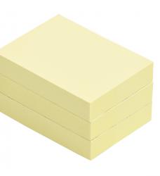 photo of Memoblok Quantore 40x50mm geel