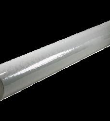 photo of Tafellaken 100cm x 10m wit damast