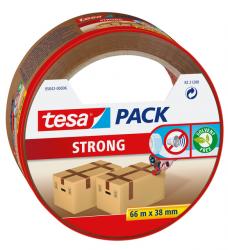 photo of Verpakkingstape Tesa 05042 strong 38mmx66m bruin