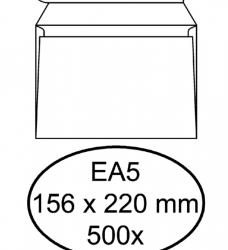 photo of Envelop Hermes Digital EA5 156x220mm zelfklevend wit 500stuk