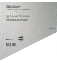 photo of Scheidingsbladen Leitz A4 karton 200gr 11-gaats grijs