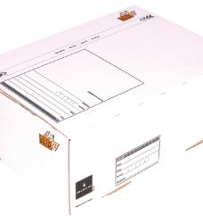 photo of Postpakketbox 4 CleverPack 305x215x110mm wit 25stuks
