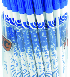 photo of Inktwisser Bic blauw