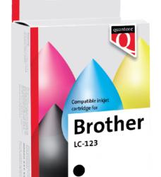 photo of Inktcartridge Quantore Brother LC-123 zwart