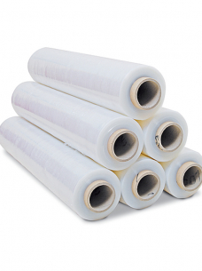 photo of LLDPE stretchfolie 50cm x 300m 20µm transparant