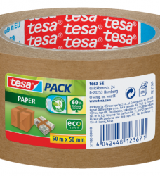 photo of Verpakkingstape Tesa 50mmx50m eco papier