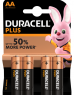 photo of Batterij Duracell Plus Power 4xAA alkaline