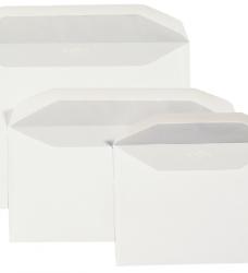 photo of Envelop Quantore bank C5/6 114x229mm zelfklevend wit 50stuks