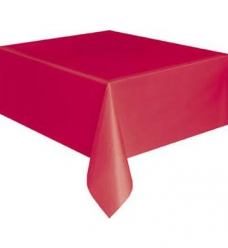 photo of Tafellaken duni 125cm x 160cm rood dunicel