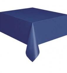 photo of Tafellaken duni 125cm x 160cm donkerblauw dunicel