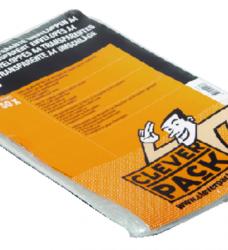 photo of Envelop CleverPack akte A4 220x300mm zelfkl. transp. 50stuks