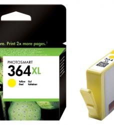 photo of Inktcartridge HP CB325EE 364XL geel HC