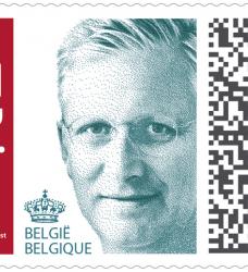 photo of Postzegel Belgie prior zelfklevend 100 stuks