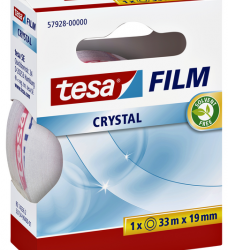 photo of Plakband Tesa film Crystal 19mmx33m
