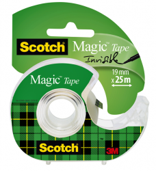 photo of Plakband Scotch Magic 810 19mmx25m onzichtbaar + afroller