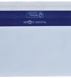 photo of Envelop Hermes Digital EA5/6 110x220nm zelfklevend wit 500st