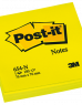 photo of Memoblok 3M Post-it 654-NGE 76x76mm neon geel