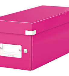 photo of Cd box Leitz Click en Store WOW 143x136x352mm roze