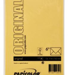 photo of Envelop Papicolor C6 114x162mm Dottergeel