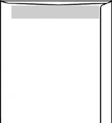 photo of Envelop akte 230x310mm zelfklevend 100gr wit 250stuks