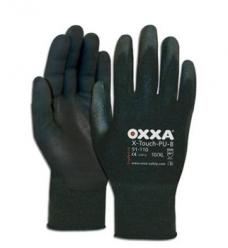 photo of Werkhandschoenen OXXA X-Touch-PU-B nylon met pu coating 10/XL zwart