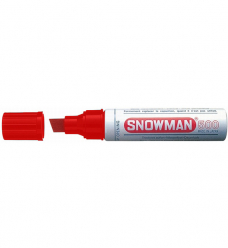photo of Snowman marker 500 rood