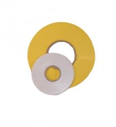 photo of Zaksluittape pvc 9mm x 200m geel