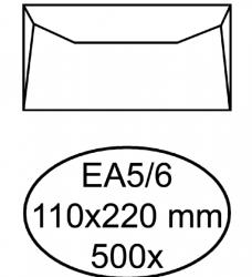 photo of Envelop Quantore bank EA5/6 110x220mm wit 500 stuks