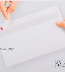 photo of Envelop Quantore bank EA5/6 110x220mm zelfklevend wit 25stuk