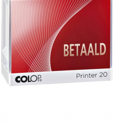 photo of Woordstempel Colop Printer 20 betaald