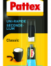 photo of Secondelijm Pattex Classic tube 3gram op blister