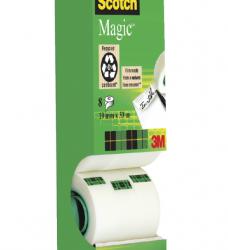 photo of Plakband Scotch Magic 810 19mmx33m onzichtbaar mat 7+1 gratis